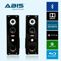 ABIS Floor Standing Home Cinema Speakers Bluetooth, Audio Jack, SD Card, USB