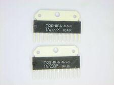 "TA7233P ""Original"" Toshiba  12P SIP IC  2  pcs"
