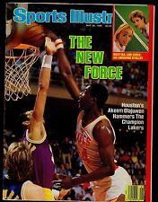 1986 Sports Illustrated Hakeem Olajuwon No Label 5/26/86 16571