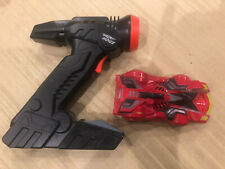 Air Hogs Rc Zero Gravity Laser Racer Boy Kids Race Car Toys - red