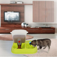 Automatic Pet Feeder For Feeding Cat Dog Dry Food Portion Control Water Feeder