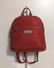 NWT CALVIN KLEIN Belfast Nylon Backpack, Red
