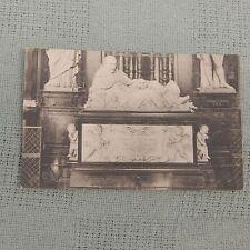 Vintage Postcard Gand. Cathedrale St. Bavon. Mausolee De L'Eveque Triest