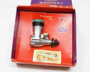 Vintage K&B KB Torpedo 23 Model Airplane Engine w/ Box Never Run Minty!