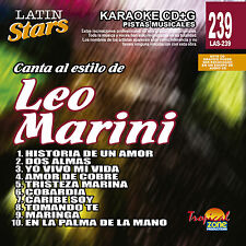 Karaoke Latin Stars 239 Leo Marini Vol.1