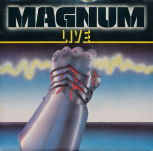 """MAGNUM LIVE - ALL OF MY LIFE + 3 - 1980 PIC COVER - 2 x 7"""" SINGLE - FREE UK POST"""
