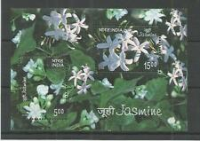 INDIA 2008 JASMINE MINISHEET SG,MS2475 UM/M NH LOT 5972A