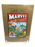 Golden Age Marvel Comics Volume 5 Mystery 17-20 Marvel Masterworks HC New Sealed