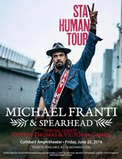 MICHAEL FRANTI & SPEARHEAD/DUSTIN THOMAS 2018 PORTLAND CONCERT TOUR POSTER-Roots