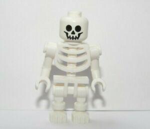 Lego Skeleton  Minifigure Figure Halloween Monster