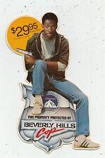 Vintage Beverly Hills Cop Eddie Murphy Cardboard  Mini Standee VHS Promo