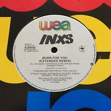 "INXS - - BURN FOR YOU ( Extended Remix) 1984 Australian WEA 12"" I Send a Message"