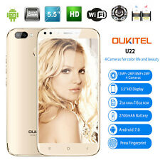 2GB+16GB Smartphone 13MP 4 Cámara Oukitel U22 3G 5.5'' Android 7.0 1.3GHz Movil