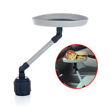 Universal Car Auto Swivel Mount Holder Travel Drink Cup Coffee Table Stand Food