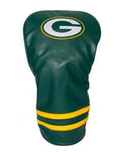 Team Golf NFL Green Bay Packers Vintage Driver Headcover