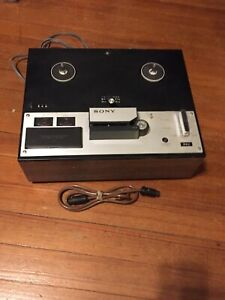 Vintage Sony Stereo Tapecorder Mode TC 250A (NOT TESTED, POWERS UP, AS IS)