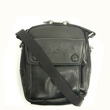 Valentino Bag Shoulder bag Logo Black Woman unisex Authentic Used T015