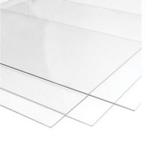 Perspex Glass Styrene and M.D.F For Picture Photo Frames 1.2mm Clear Transparent