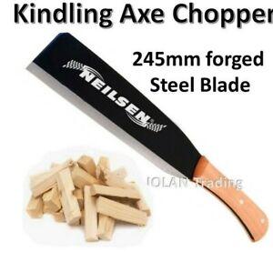Log Fire Burner Kindling Wood Timber Hand Axe Chopper Splitting 3848 *
