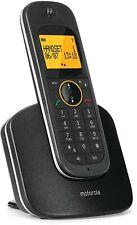 Téléphone sans fil Motorola D1001 Dect Noir Cordless
