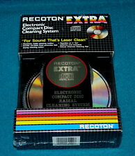 """New! RECOTON """"Electronic"""" COMPACT DISC Cleaning System CDX-100 @ Retro CD 1987"""