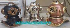 Antique sea Scuba Collectibles Mini Diver Diving Helmet Equipment Sea Navy