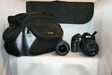 Nikon D D3200 24.2MP Digital SLR Camera - Black (Kit w/ AF-S DX ED II 18-55mm an