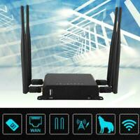 300Mbps Industrial 4G Wireless Router Support Wifi Router SIM Card VPN M2M