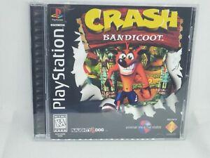 Crash Bandicoot Reproduction Case PS1 NO DISC - FAST SHIPPING!!!!