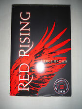 ***1st Printing/Ed*** RED RISING ADVANCE REVIEW COPY (ARC) by Pierce Brown