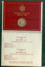 VATICAN  2008 COFFRET  2 EURO B U  COMMÉMORATIF ANNÉE SAINT PAUL