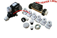BATHTUB to WHIRLPOOL Conversion assembly kit with bath HEATER 120V/1.5kW in-line
