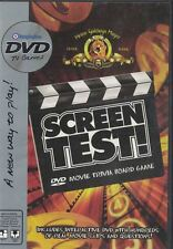 Screen Test DVD Movie Trivia Board Game Replacement DVD Only  Board not Included