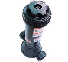 automatic pool in-line chlorine feeder pool chemical feeder chlorinate dispenser