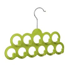 Multifunctional Scarf Hanger with 11 Hooks in Flocking Random Color T8Y4