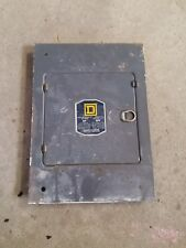 Old Square D Panel Cover Catalog 33582 - P F