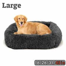 New Listingx-large dog beds For large Medium Small Dogs Long Plush Pet Cat Calming Beds Mat