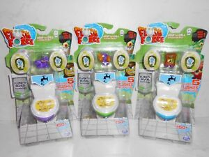 Spin Master Series 1 FLUSH FORCE: 3 Colors 5 Flushies Pack (All 3 or Choice) 4+