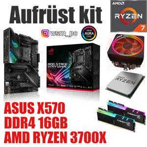 AMD 🆁🆈🆉🅴🅽 7 3700X ● ASUS X570 STRIX Mainboard ● 16GB RAM ● Ryzen Bundle Kit