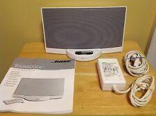 Bose SoundDock Series 1 iPod/iPhone Speaker Dock w/ Power & Manual - White