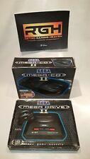 SEGA MEGA CD 2 BOXED RARE 7 GAMES SET CONSOLE PLUS MEGA DRIVE 2 BOXED SET GOLDEN