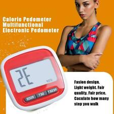 LCD Step Pedometer Calorie Pedometer Counter Walking T0A4 Distance H3W5