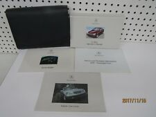 2001 Mercedes Benz C Class Owners Manual Set    FREE SHIPPING