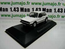 VW4F voiture 1/43 IXO Volkswagen collection : GOLF GTi I 1976 blanche