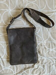 Visconti Messenger Leather Bag - Oiled Tan, used twice only, casual formal