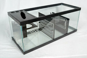 REFUGIUM KIT - 20 Gallon Long DUAL ZONE Adjustable Aquarium Sump Kit
