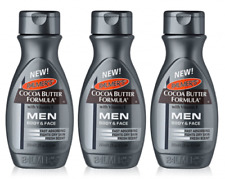 3x Palmers Cocoa Butter Formula Moisturising Lotion Body/face Men Dry Skin 250ml