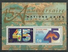 UNO-Genf/ 45 Jahre UNO MiNr Block 6 **
