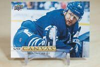 2019-20 Upper Deck UD Canvas #C2 Morgan Rielly - Toronto Maple Leafs