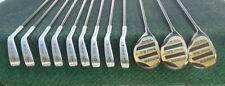 Trident Golf Bi-Metal Irons 3 Thru SW, 1, 3 & 5 Woods Left Handed Mint